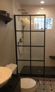 GRID SHOWER DOORS ARE HOT RIGHT NOW!!
