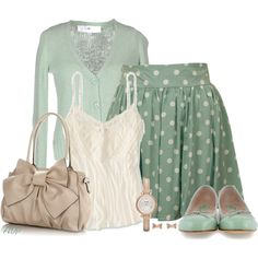 """""""Mink Pink Peppermint Patty Skirt"""" by amy-phelps on Polyvore"""