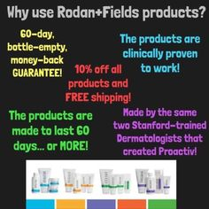 Rodan and Fields has a product for everyone! Your skin will thank you! 610-761-2135 Jdiemidio.myrandf.com