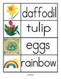 Spring preschool printables