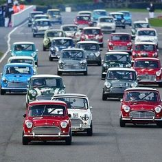 Mini Coopers, Racing, Circuit, Classic, Instagram Posts, Track, Cars, Photos, Pictures