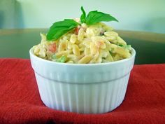 Life Tastes Good: Orzo Pasta with Spinach and Parmesan