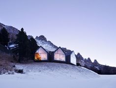 Oberholz Mountain Hut restaurant - Peter Pichler Architecture/Mikolajcak