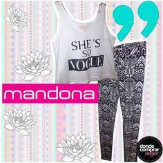 Look Mandona Tienda bien fresco y cómodo para terminar la semana. ¿Qué opinás? www.dondecomprarmejor.com/mandona