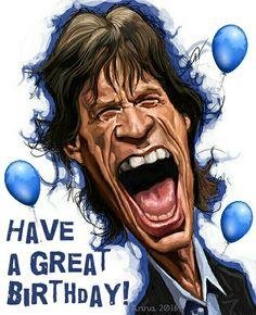Happy Birhday #Mick Jagger