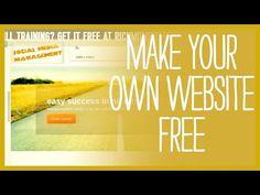 ▶ How to Make a Free Website - NO SKIPPED STEPS - YouTube