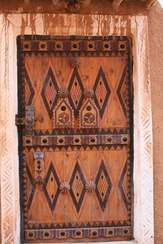 beautiful details on this Saudi door in Ushaiger village