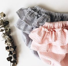 Lulú bloomers in two color ways! Grey + melon  -NICA NICA BY VEVE