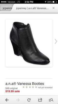 Ankle boots - JC Penny