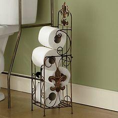 Fleur De Lis Bathroom