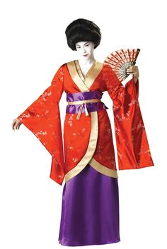 Japanese Geisha Adult Costume