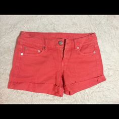American Eagle Shorts NWOT Mid rise ameican eagle shorts. Never been wore: Bought these without trying them on, come to find out the shorts didn't fit and I had already taken the tags off. Size 4, new condition. NWOT American Eagle Outfitters Shorts