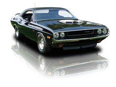 1970 Black on Black Dodge Challenger RT-SE 426 V8 HEMI