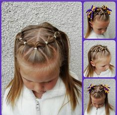 The Effective Pictures We Offer You About toddler hairstyles girl mohawk A quality picture can tell Toddler Hair Dos, Easy Toddler Hairstyles, Easy Little Girl Hairstyles, Girls Hairdos, Baby Girl Hairstyles, Braided Hairstyles, Toddler Girl, Crazy Hair, Natural Hair Styles