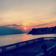 <3 #genova #genoa #liguria #italy #italia #sunset #tramonto