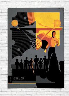 The Original Star Trek Series - James T. Kirk - Poster