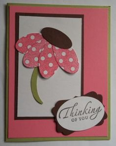Stampin Up Sincere Salutations, Thinking of You