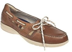 0d68a415a1f3 Women s Aravon Jillian Boat Shoes by New Balance Narrow (AA