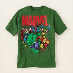 boy - graphic tees - Marvel graphic tee | Children's Clothing | Kids Clothes | The Children's Place