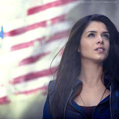 marie-avgeropoulos: The 100 1.01 Pilot Episode Stills [1 of ?] Marie Avgeropoulos as Octavia Blake