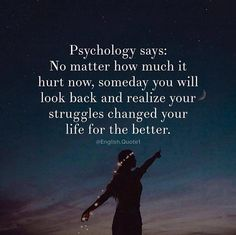 Psychology says..