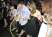 The kids enjoy a hula hoop game at Josh's Bar Mitzvah. Hula Hoop Games, School Dances, Social Events, Bar Mitzvah, Michigan, Dj, Entertaining, Bat Mitzvah, Funny