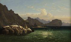 "Lambourne, ""Black Rock, Great Salt Lake"""