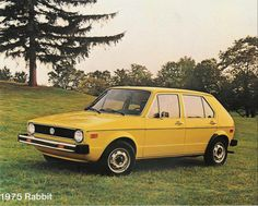 MK1 VW Rabbit 4 door, same as mine. Not the same motor though ;)