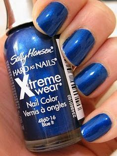 Sally Hansen Hard as Nails Extreme Wear - Blue It 16
