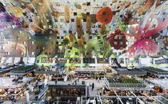 Rotterdam's new €175m market hall comes complete with apartments looping over it – some peeping out of giant avocado stones. It's proudly pop, but is it just the Comic Sans of architecture? Oliver Wainwright reports