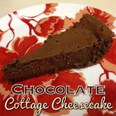EmilyCanBake: Chocolate Cottage Cheesecake