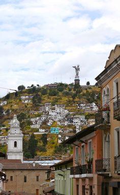 ECUADOR |||||||||| QUITO - Quito, Virgen del Panecillo.