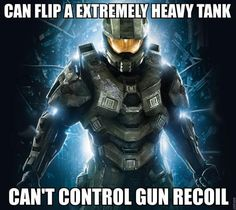 video game logic halo recoil