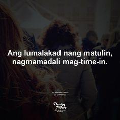 Hugot Quotes Tagalog, Tagalog Quotes, Pirate Quotes, Filipino Funny, Hugot Lines, English, Pick Up Lines, Sad Quotes, Haha