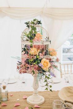 30 Stylish Birdcage Wedding Centerpieces