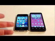 HTC EVO V 4G vs. iPhone 4S Comparison Review