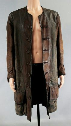 This isCaptain Charles Vane's (Zach McGowan) Screen Worn Wardrobe Item. Black Sails. Item: Button-Front, Coat. The components of this wardrobe set have been previously worn during production. However, the components may have been altered for use. | eBay!