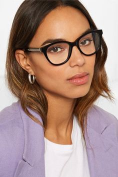 086861d497 Jimmy Choo - Acetate Optical Glasses - Black  JimmyChoo Jimmy Choo