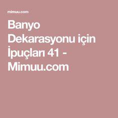 Banyo Dekarasyonu için İpuçları 41 - Mimuu.com