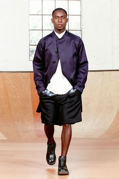 The Style Examiner: Menswear trend for spring/summer 2014: wide-leg and knee-length shorts