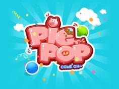 PIG POP game design by Yuanzi
