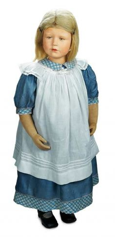 Many Wonderful Things : 159 German Character Mannequin Child by Kathe Kruse