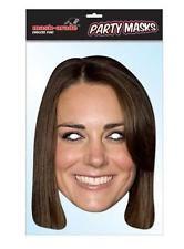 Princess Kate England Celebrity Cardboard Face Mask with Eye holes,NEW