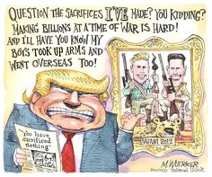 Political cartoons from the desk of Matt Wuerker.
