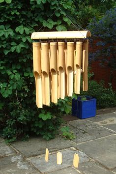 I Have A Set Of Bamboo Wind Chimes Just Like This !