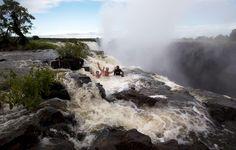 Devil's Pool at the Victoria Falls