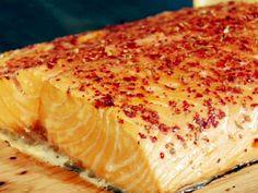 Cedar Plank Salmon with Potlatch Seasoning Recipe : Food Network - FoodNetwork.com