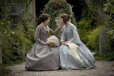 Lady Deadlock and Esther Somerson of Bleak House - I loved this BBC series