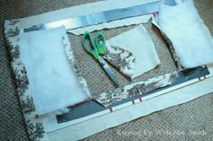 dressing up an ugly window unit, how to, hvac, window treatments, windows Window Ac Unit, Window Coverings, Window Treatments, Porch Curtains, Faux Window, Faux Wood Blinds, Ac Units, Thing 1, Sunburst Mirror