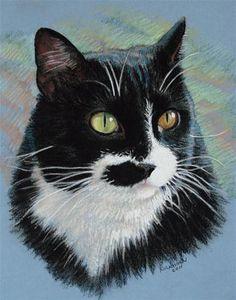 "Daily Paintworks - ""Max"" - Original Fine Art for Sale - © Rita Kirkman"